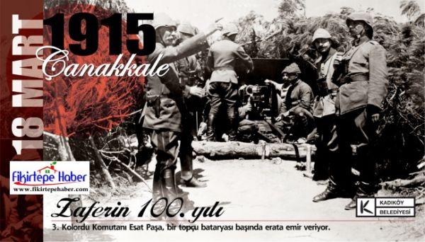 Kadıköy'de Çanakkale Zaferi 100. Yıl Anma Etkinliği