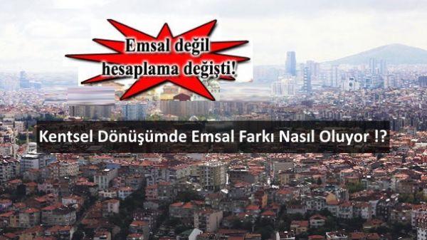 Kadıköy'de emsal artış farkı nereden kaynaklanıyor !?