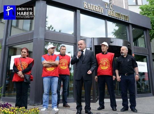 KADIKÖYDE EYLEM, AYKURT NUHOĞLU '' ACILAR TEKRAR YAŞANMASIN ''