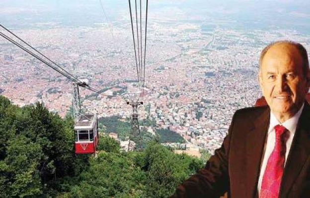 Kadir Topbaş Boğaz'a Teleferik Anadolu'ya Metro İçin Kolları Sıvadı !