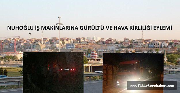 Nuhoğlu inşaattan dolayı Kadıköy Belediyesine protesto !!