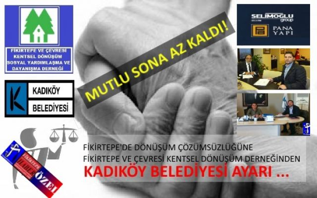 Selimoğlu - Pana ile Kadıköy Belediyes'inde Mutlu Son ..!