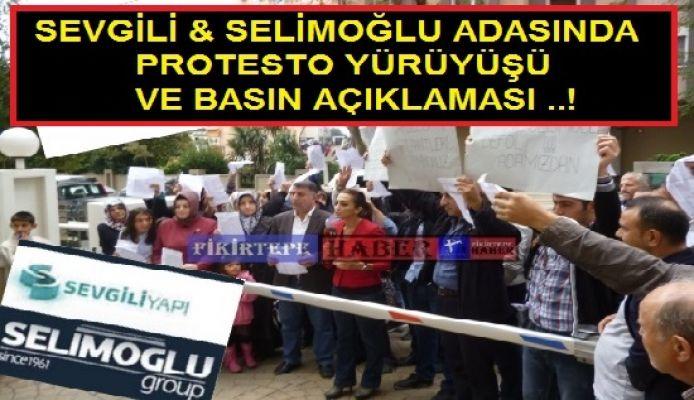 SEVGİLİ & SELİMOĞLU ADASINDA PROTESTO YÜRÜYÜŞÜ (Video)