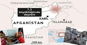 Afganistan'da 7.6 Şiddetinde Deprem