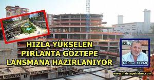 Erkan Grup'un Lansmana hazırlandığı Pırlanta Göztepe Projesinde son durum