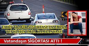Araç sahiplerini çıldırtan zamma tepki için imza kampanyası !