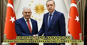 Ak Parti 3. Genel Başkanı Seçilen Binali Yıldırım Beştepe'de
