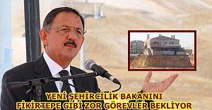 Yeni Şehircilik Bakanı Fikirtepe'ye Hayırlı Olsun