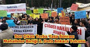 Mahalleler Birliği 2. Defa Ankara Yolcusu