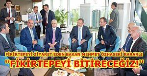 Bakan Mehmet Özhaseki Fikirtepe'de ''Fikirtepe'yi Bitireceğiz!''