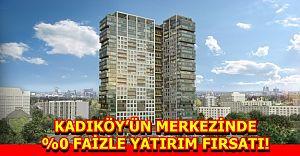 Kadıköy'ün Merkezinde % 0 Faizle Yatırım Fırsatı!