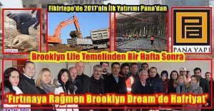 2017'nin İlk Yatırımı Pana'dan 'Fırtınaya Rağmen Brooklyn Dream'de ...'