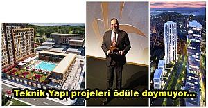 Teknik Yapı projeleri ödüle doymuyor...