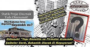 Kentsel Dönüşüm ProjelerindeTeslimler Başlarken, Gözden Kaçanlar ve Statik Projenin Önemi !!!