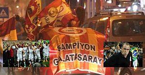 Süper Lig'de 2017-2018 şampiyonu Galatasaray!