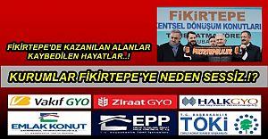 Fikirtepe'ye Duyarsız Kurumların Ticareti ve Fikirtepeli Vatandaşın Sefaleti..