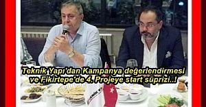 Teknik Yapı Kampanya Değerlendirmesi ve 'Fikirtepe 4.Proje Süprizi ..'