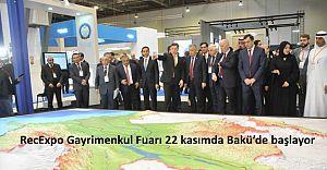 RecExpo Gayrimenkul Fuarı 22 kasımda Bakü'de başlayor