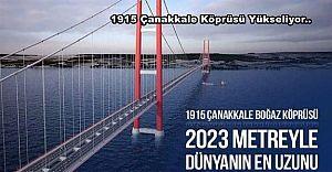 1915 Çanakkale Köprüsü Yükseliyor..