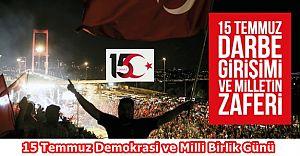3. Yılında 15 Temmuz Demokrasi ve Milli Birlik Günü