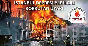Beklenen İstanbul Depreminde olası Fabrika Yangınları saatli bomba