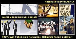 Konut Mağdurlarının Hakları ve Tüketicinin korunması Hakkında Kanun