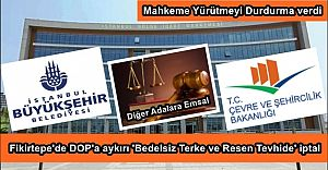 Mahkemeden Fikirtepe'de DOP'a aykırı 'Terke ve Resen Tevhide' İptal