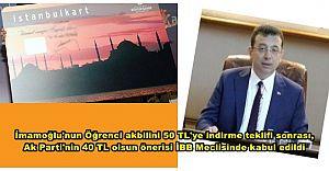 İstanbul'da öğrenci akbili 40 TL'ye indi, Bayramlarda ulaşım herkese ücretsiz