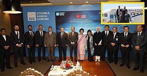 Cumhurbaşkanı Erdoğan'ın konuğu, Malezya Başbakanı Muhammed Sabiha Gökçeni ziyaret etti