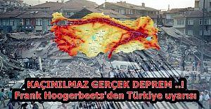 KAÇINILMAZ GERÇEK DEPREM ..! Frank Hoogerbeets'den Türkiye uyarısı