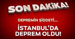 """İstanbul da Deprem """"Payitaht Sallanıyor!"""""""