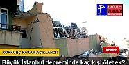 İSTANBUL DEPREMİNDE TAHMİN EDİLEN KORKUNÇ...