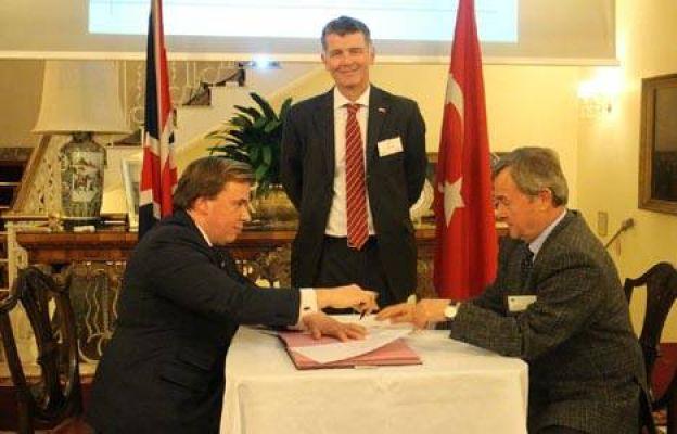 TÜMAŞ ile İngiliz inşaat şirketi RMJM arasında mutabakat zaptı imzalandı!