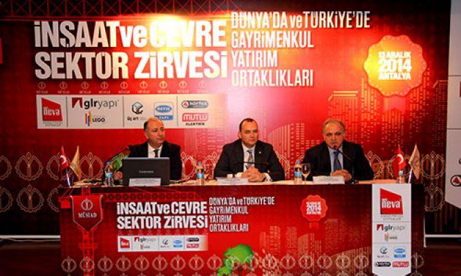 Türkiyede inşaat sektörü ve yabancı yatırımcı cazibesi ..!