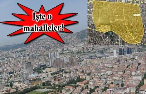 Fikirtepeyi bekleyen tehlike ,Ümraniye ve Maltepe planlarında eskiye dönüldü