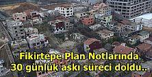 Fikirtepe Plan Notları askıdan indi...