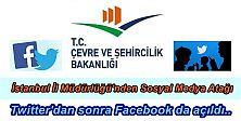 Ç. Şehircilik Bakanlığı İstanbul İl Müdürlüğü'nden Sosyal Medya Atağı..