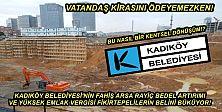 Kadıköy Belediyesi Emlak Vergisinde Fikirtepe ile Bağdat Caddesini Eşitledi!