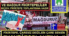 FİKİRTEPE'NİN SESSİZ KALABALIKLARI ARTIK SESSİZ DEĞİL!