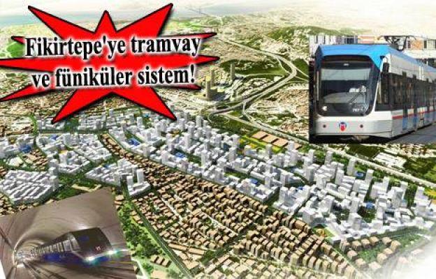 Yeni Fikirtepe' de Tramvaya Binmek Ayrı Bir Zevk Olacak