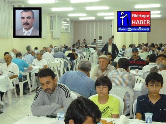 Zafer Düzgün için 12' ler Camisinde İftarlı Mevlüt Okutuldu