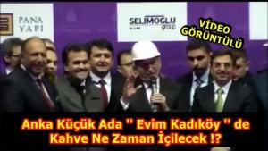 Anka Küçük Ada ''Evim Kadıköy'de'' İlk kahve ne zaman içilecek?
