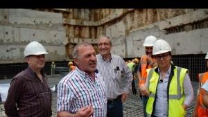 Erkan İnşaat Temel Atma Hazırlıkları ve Mahmut Erkan Röportajı