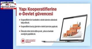 Yapı Koopertiflerine e-Devlet güvencesi