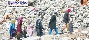 Fikirtepe'deki süreç uzadıkça Suriyeli akını artmakta ..!