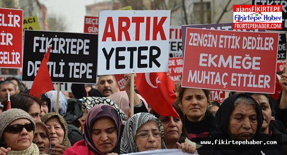 FİKİRTEPE DÖNÜŞEMEDİ, VATANDAŞ MAĞDUR !!!