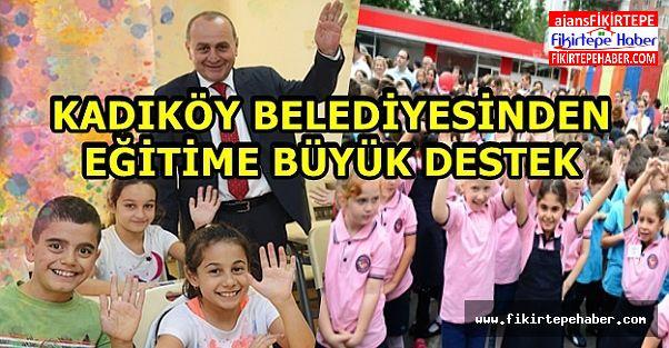 Kadıköy Belediyesi'nden Eğitime büyük destek ...