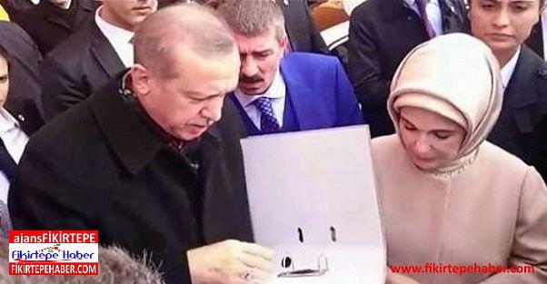 Makrom mağdurları Cumhurbaşkanı Erdoğan'la görüştü!