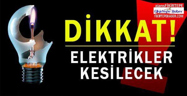 İstanbul Anadolu yakasında 4 aralıkta elektrik kesintisi