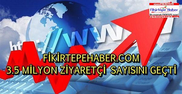 www.FikirtepeHaber.com 3,5 milyon tıkı aştı !!!
